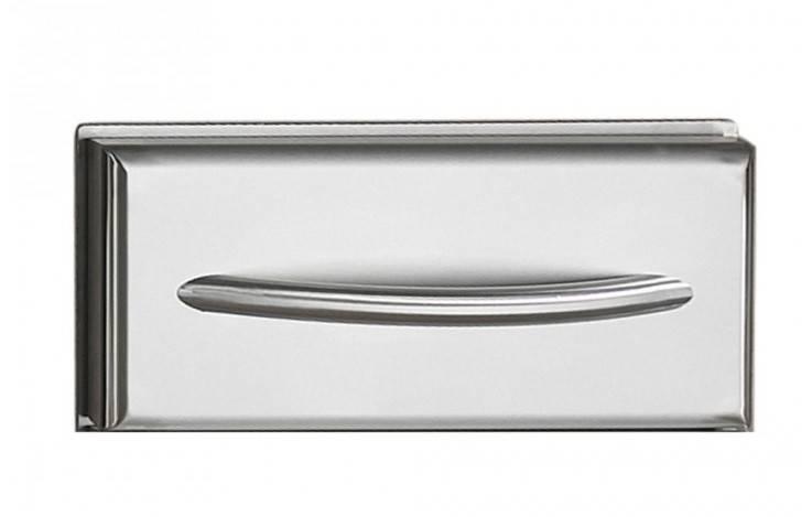 Napoleon Einbau Schublade mit gewölbtem Edelstahl-Griff