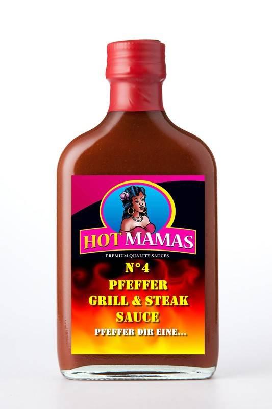 Hot Mamas N°4 - Pfeffer Grill & Steak Sauce
