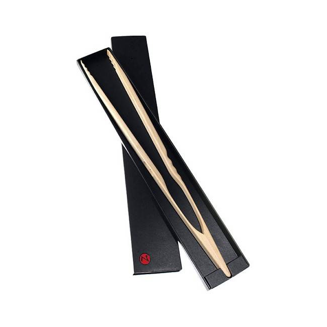 Zetzsche Grillzange Buchenholz 60cm extra lang von OZ-Goods