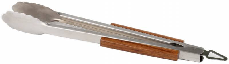 Grandhall Bambus BBQ Tong Grillzange 42 cm