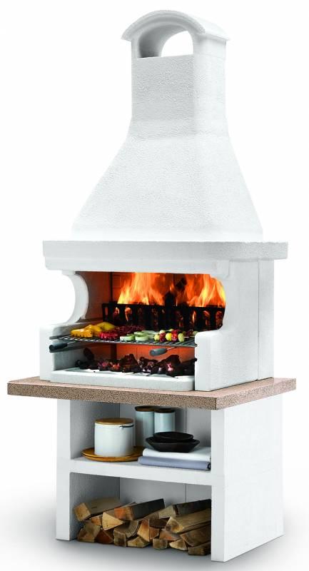 Palazzetti Gartenküche Malibu 2: Modul Grill inkl. Montagematerial