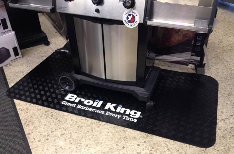 Broil King Bodenschutz Matte schwarz 1800 x 900mm