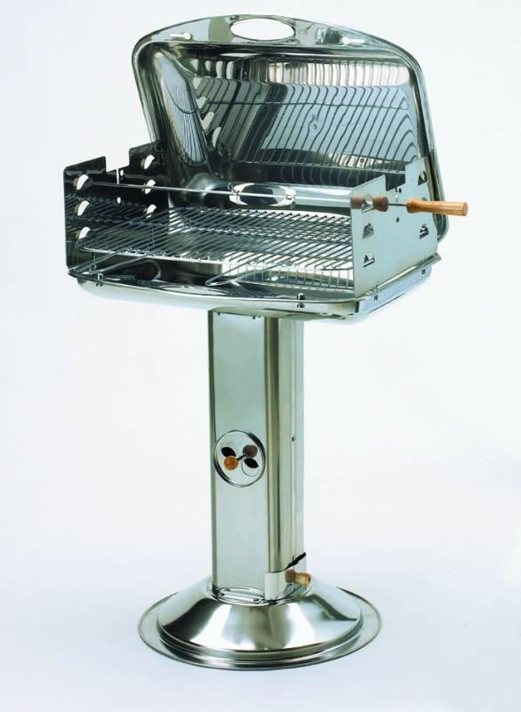 Edelstahl Säulengrill Landmann 9128585 - B-Ware