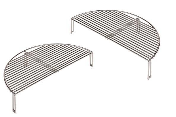Monolith LeCHEF Grillrost 2.Ebene (Durchmesser 55cm) 2er-Set