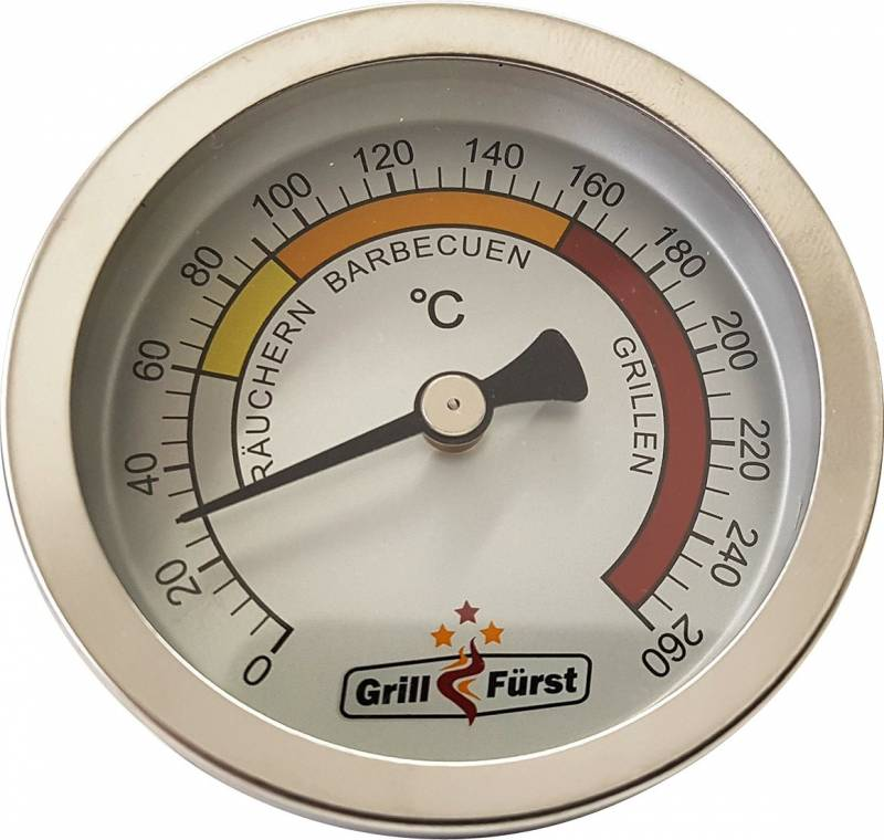Grillfürst Deckelthermometer - Grill Thermometer Therm260 (Therm 260)