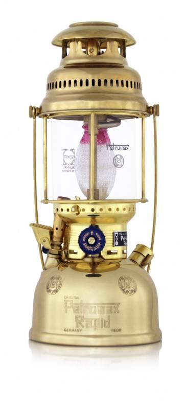 Petromax Petroleumlampe HK500/829 Messing