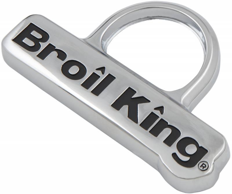 Broil King Ersatzteil: Nameplate Monarch / Signet / Sovereign / Crown / Baron / Regal / Imperial - 1 Stück