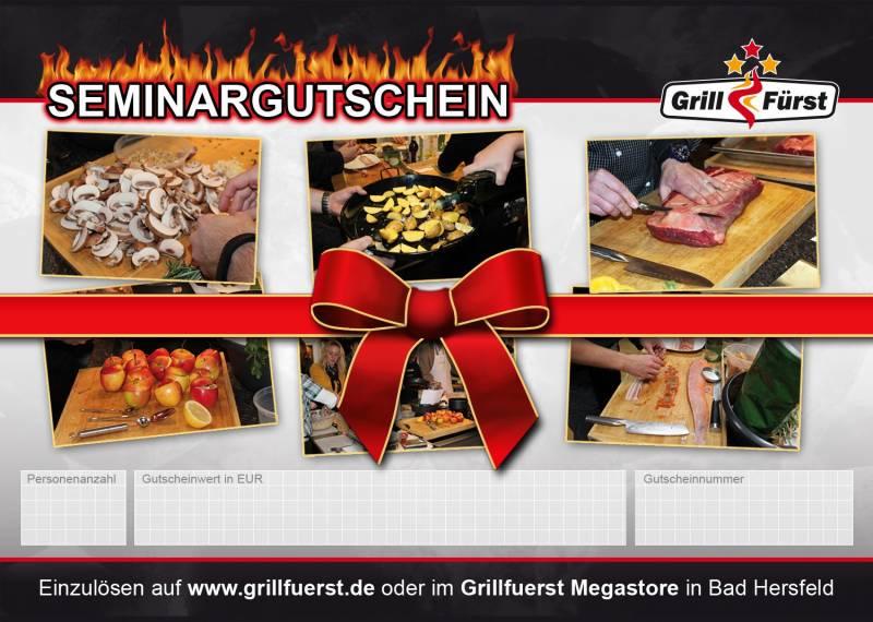 Grillfürst Seminar Geschenkgutschein 99€