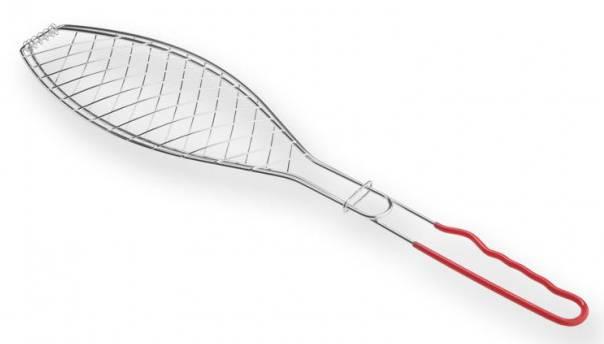 Thueros Zubehoer: Thueros Fischbraeter Stahl verchromt 68cm