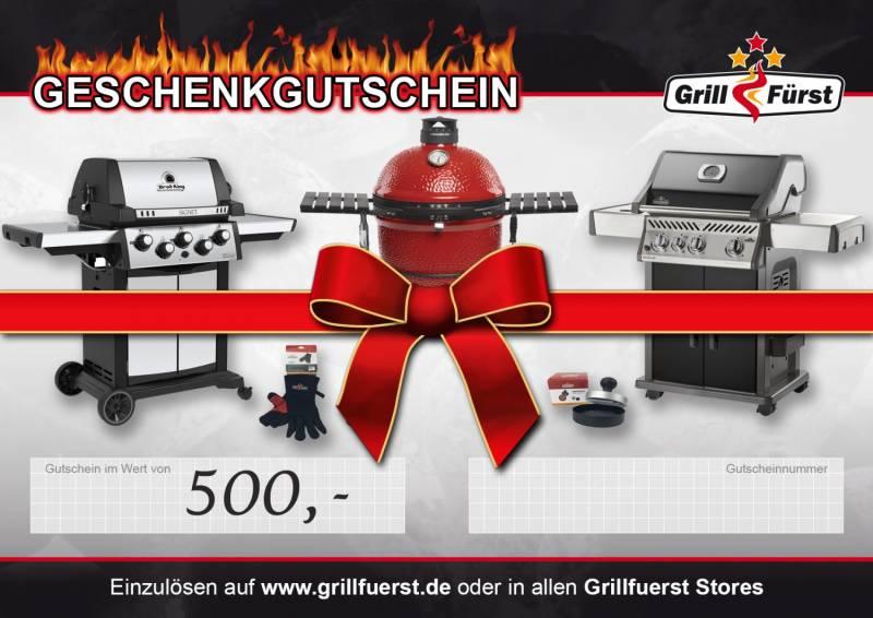 Grillfürst Geschenkgutschein 500€