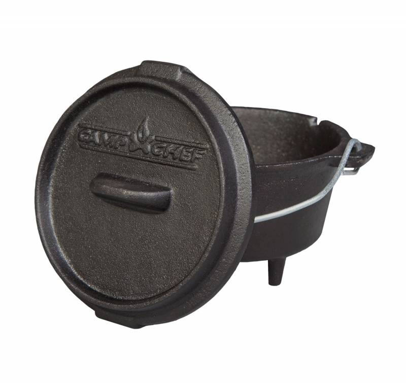 """Camp Chef 5"""" Deluxe Gusseisentopf / Dutch Oven"""