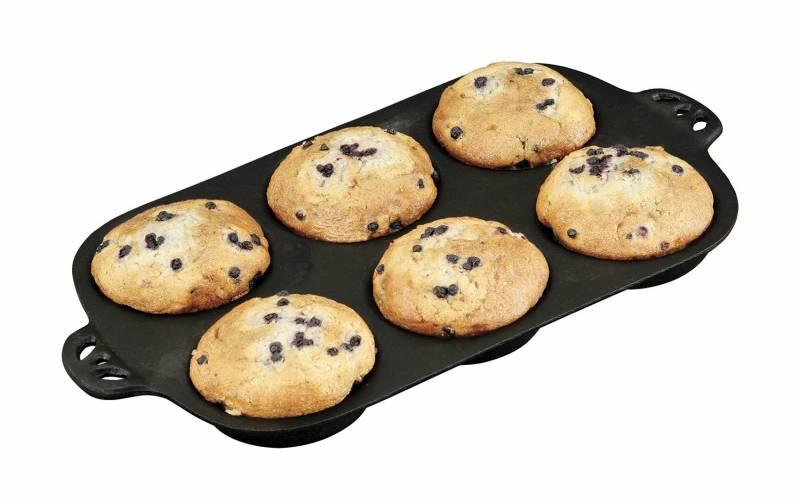 Camp Chef Gusseisen Backform für 9,5 cm Muffins