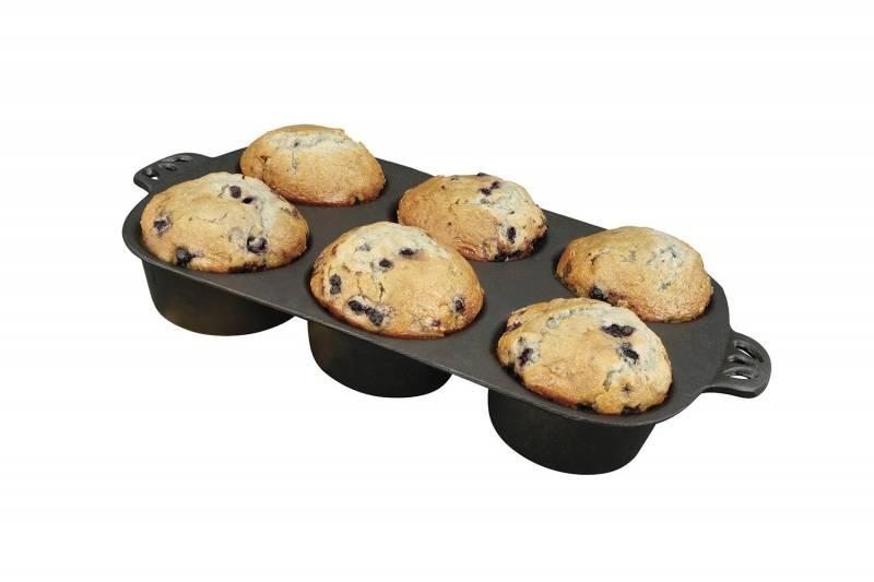 Camp Chef Gusseisen Backform für 6 cm Muffins