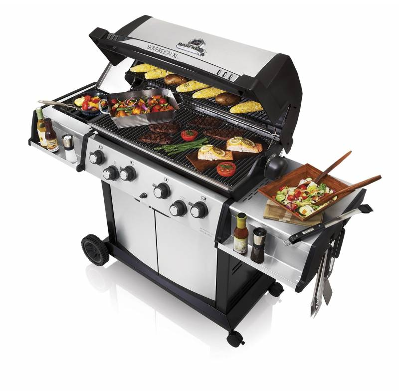 Broil King Sovereign 490 XL inkl. Drehspieß + Motor