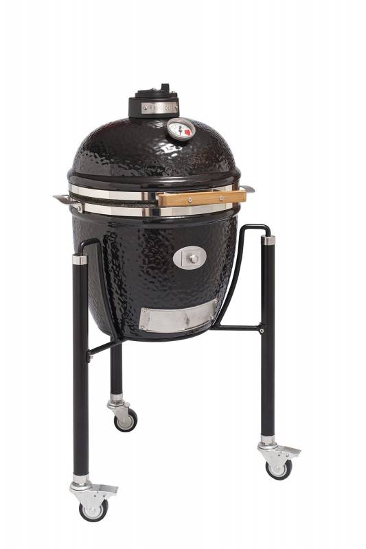 Monolith Grill Junior Black mit Gestell MG13B - Set