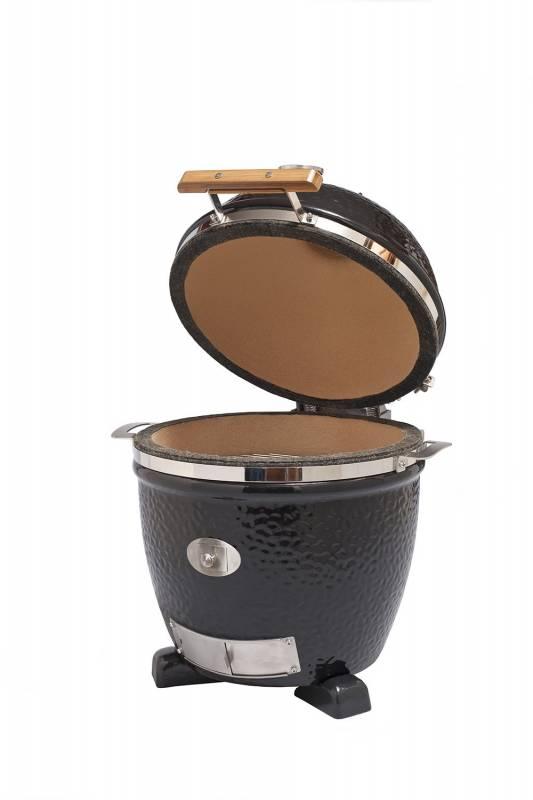 Monolith Grill Junior Black ohne Gestell MG13BNC - Set