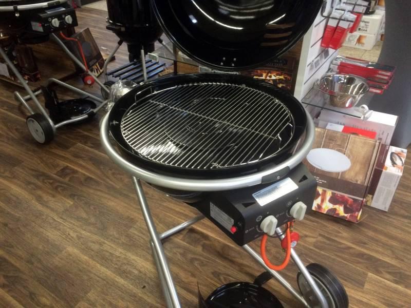 Grillfürst Edelstahl Grillrost 4mm / Grillrost klappbar für 570er / 57er Grills