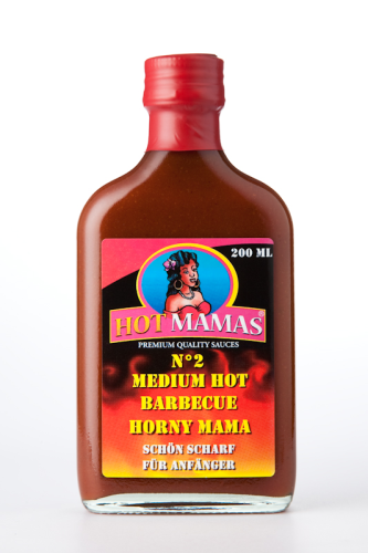 HotMamas N°2 - Medium Hot Barbecue Sauce