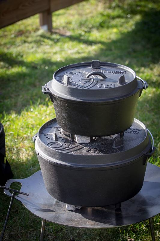 Petromax Feuertopf ft18 17,3 Liter Dutch Oven mit Füßen
