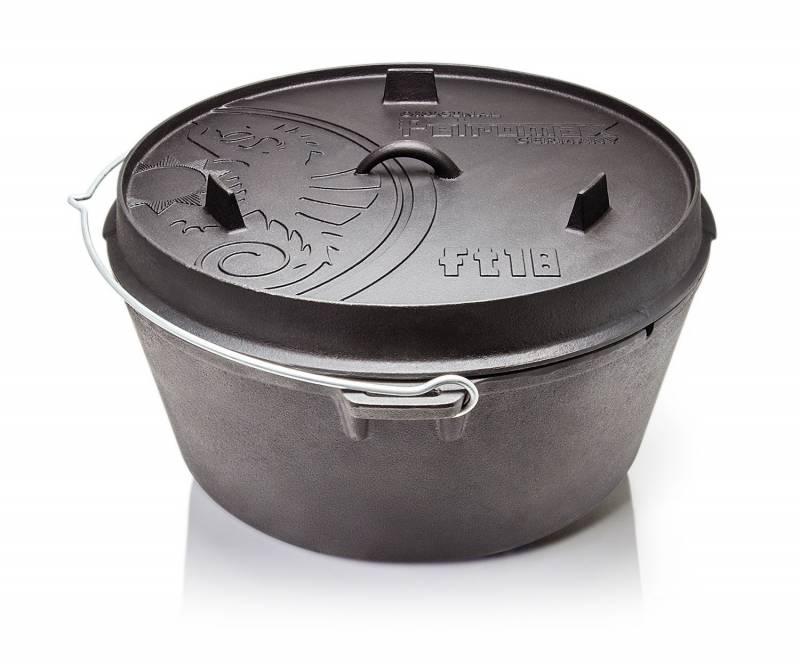 Petromax ft18-t Feuertopf Dutch Oven 16,1 l - ohne Füsse