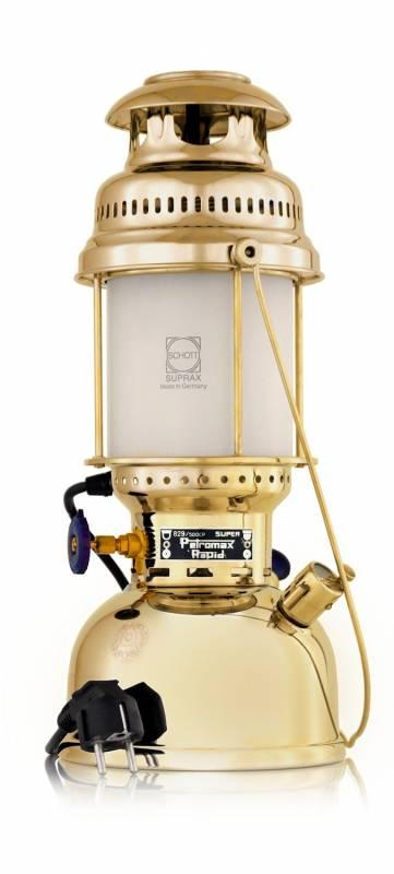 Petromax Tischleuchte HK500/829 Messing