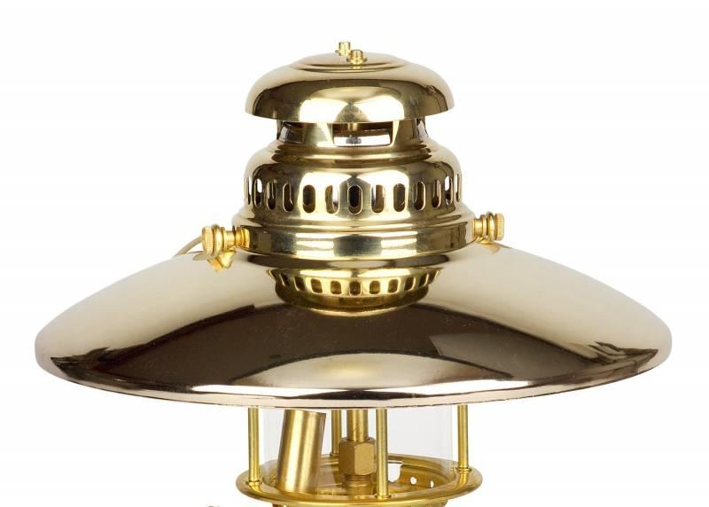 Petromax Reflektorschirm für Petroleumlampe HK150 vergoldet
