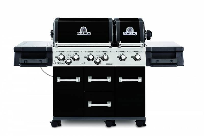Broil King Imperial 690 XL Black inkl. Drehspieß + Motor - Auslaufmodell