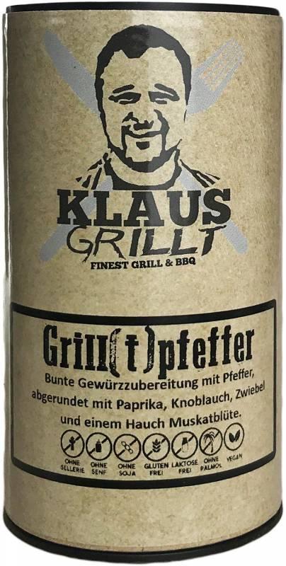 Klaus Grill(t)pfeffer 100 g Streuer by Klaus grillt