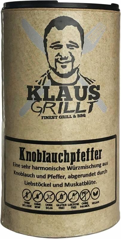 Knoblauchpfeffer 120 g Streuer by Klaus grillt