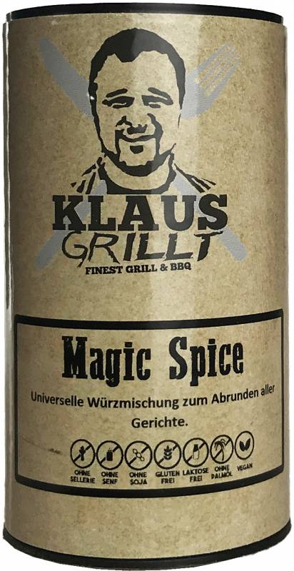Magic Spice 120 g Streuer by Klaus grillt