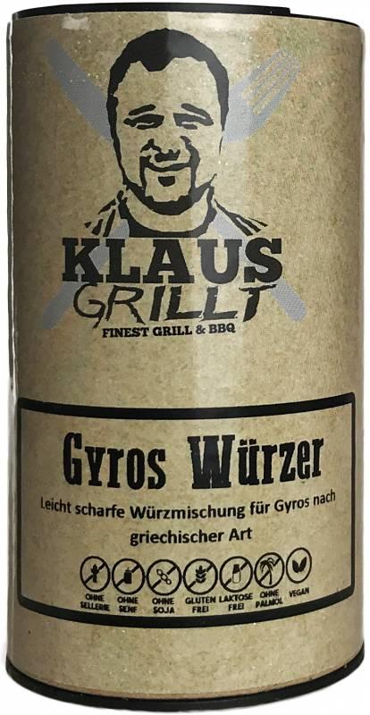 Gyros Gewürzmischung 120 g Streuer by Klaus grillt