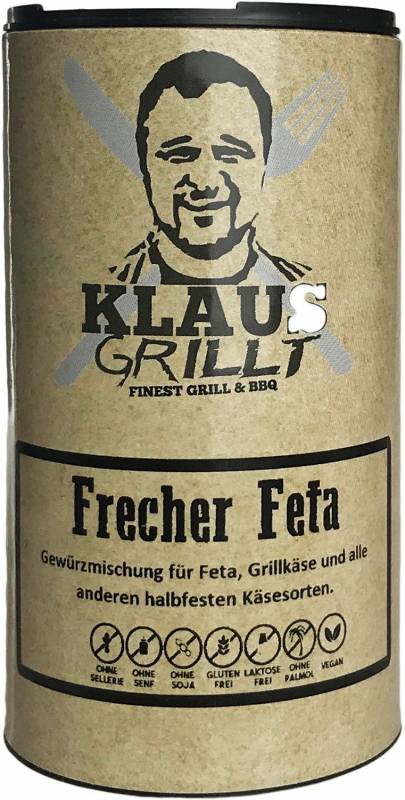 Frecher Feta Gewürzmischung 50 g Streuer by Klaus grillt