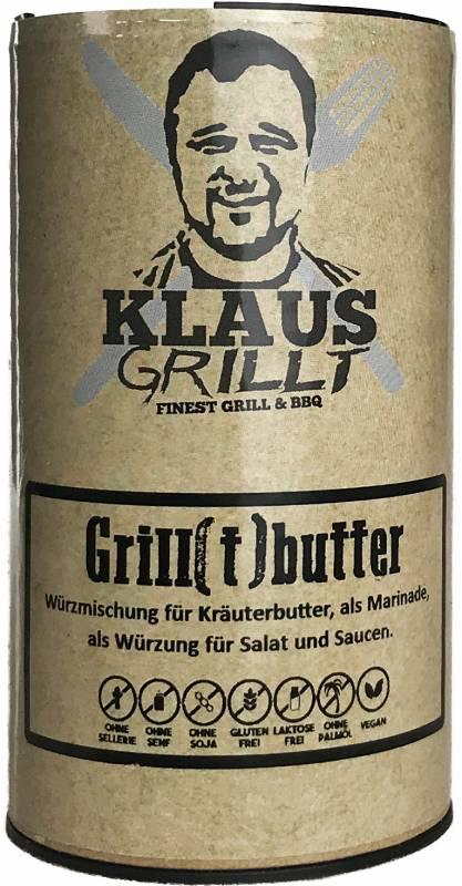 Grill(t)butter Gewürzmischung 80 g Streuer by Klaus grillt