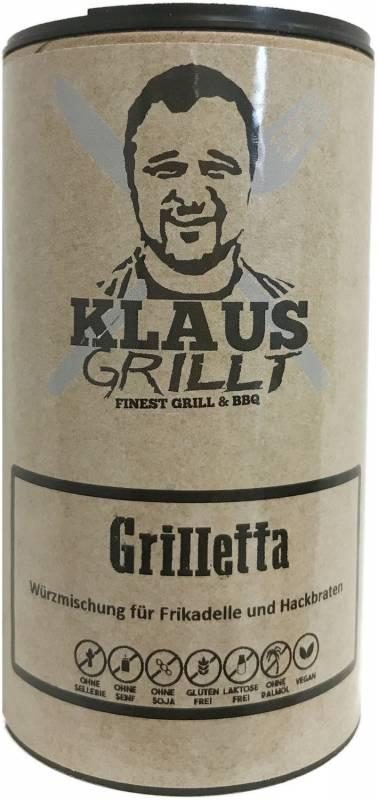 Grillettawürzer 120 g Streuer by Klaus grillt