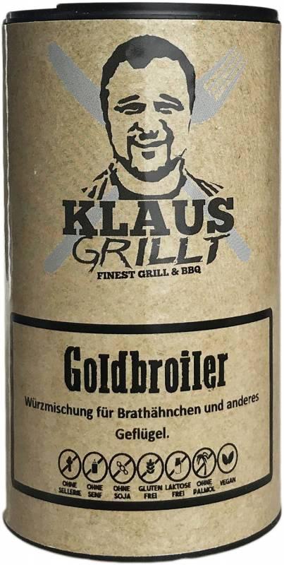 Goldbroiler 120 g Streuer by Klaus grillt