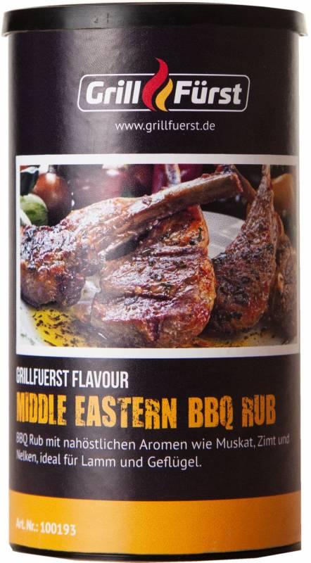 Grillfürst Middle Eastern BBQ Rub im 260g Streuer