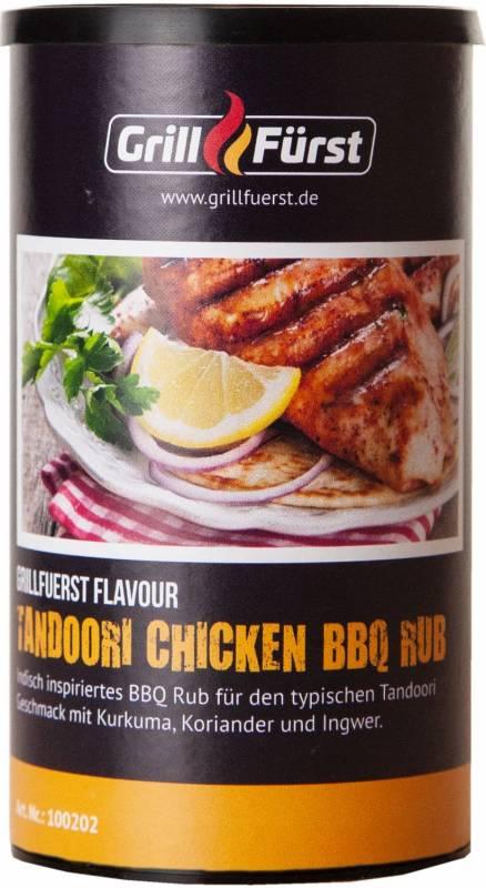 Grillfürst Tandoori Chicken BBQ Rub im 240g Streuer