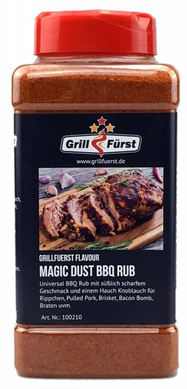 Grillfürst Magic Dust BBQ Rub 870g