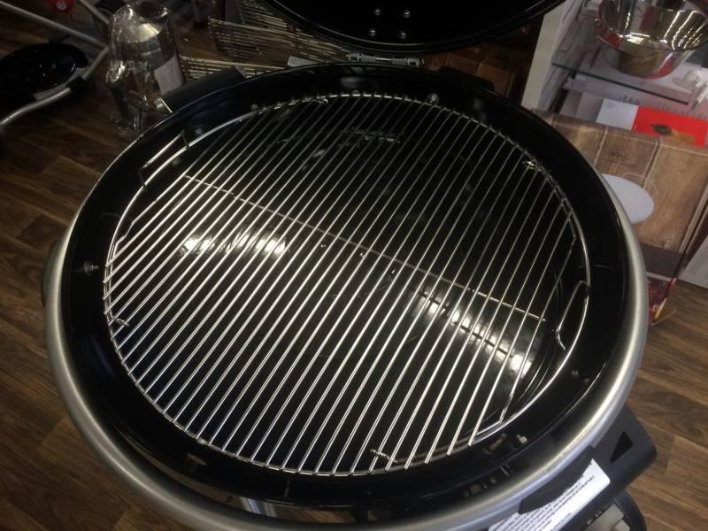 Grillfürst Premium 5 mm Edelstahl Rost / Grillrost klappbar für 570er / 57er Grills