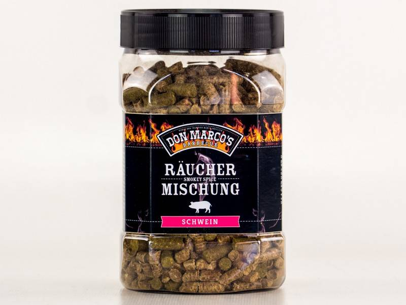 Don Marcos Schwein Smokey Spice Räuchermischung 450g Dose