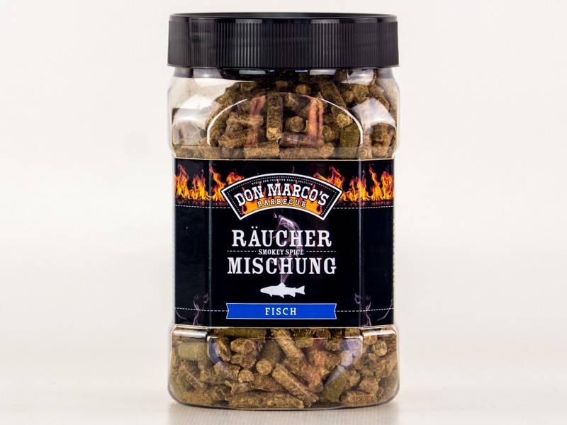 Don Marcos Fisch Smokey Spice Räuchermischung 450g Dose