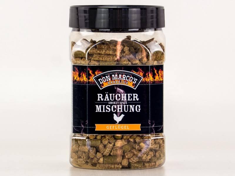 Don Marcos Geflügel Smokey Spice Räuchermischung 450g Dose