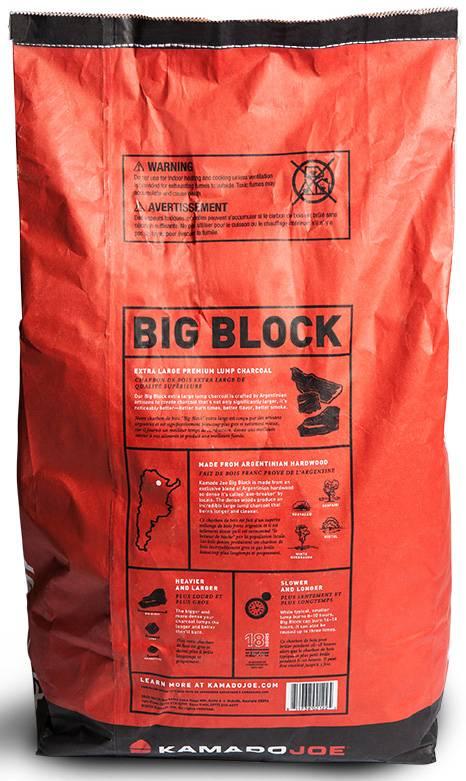 Kamado Joe Big Block XL Holzkohle