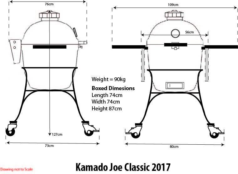 Kamado Joe Classic II Keramikgrill