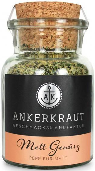 Ankerkraut Mett Gewürz, 85g Glas