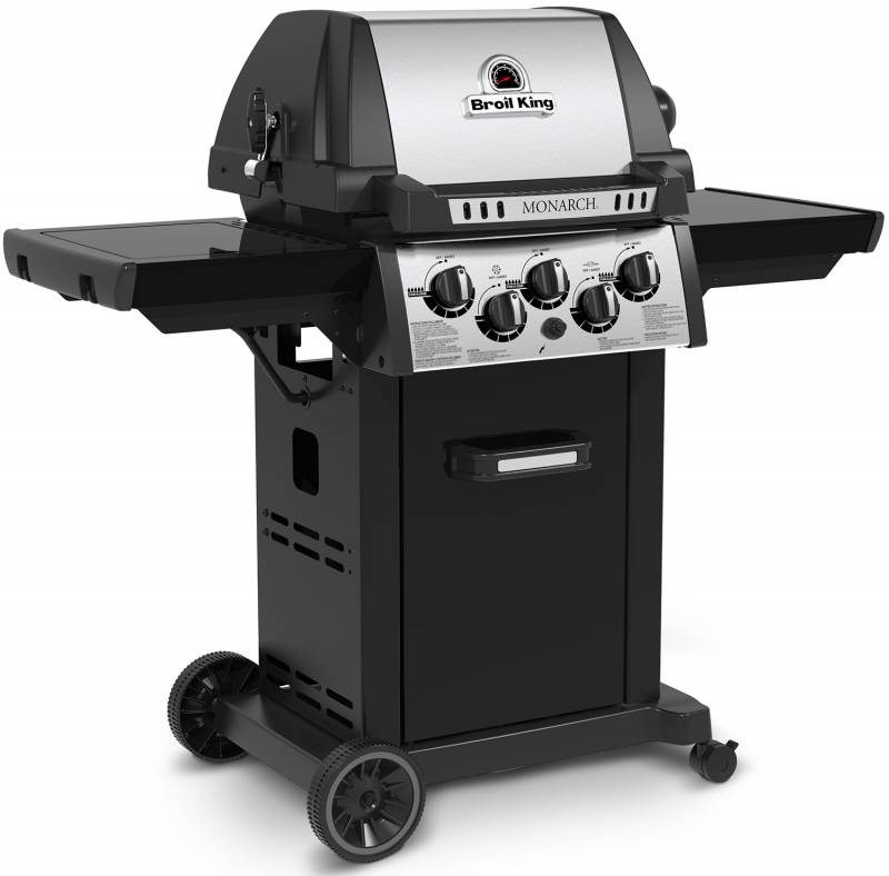 Broil King Monarch 390 - Modell 2018 inkl. Drehspieß + Motor