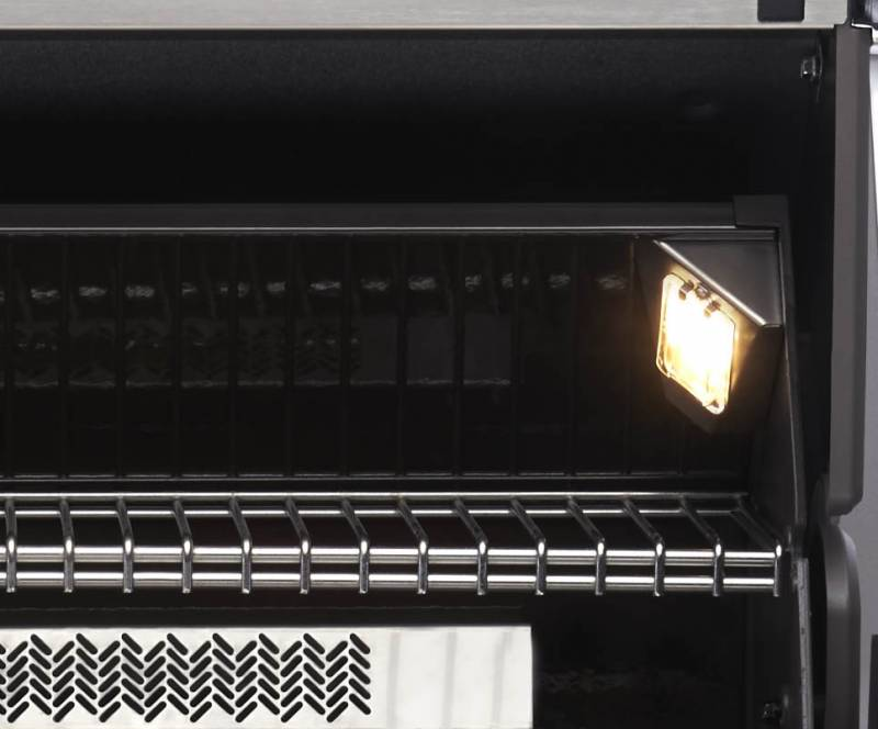 Napoleon Prestige Pro665, Erdgas, Edelstahl PRO665RSIBNSS-2 mit Drehspiess