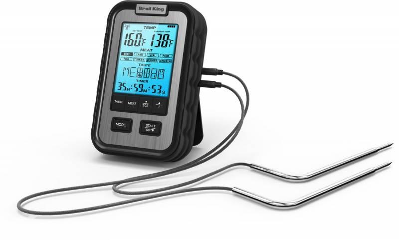 Broil King Seitenablagen Grillthermometer digital