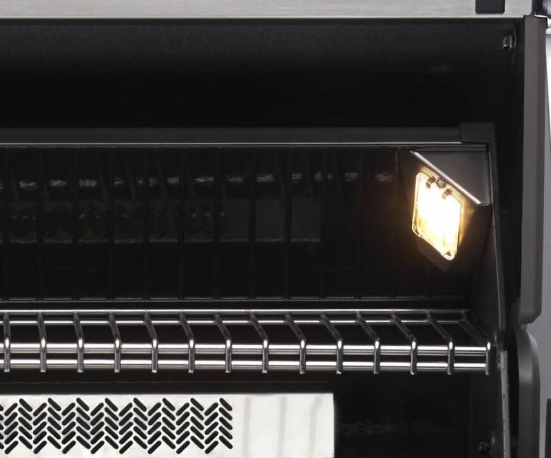 Napoleon Prestige Pro 665-2, Edelstahl, Einbau, inkl. Drehspieß - Modell 2019