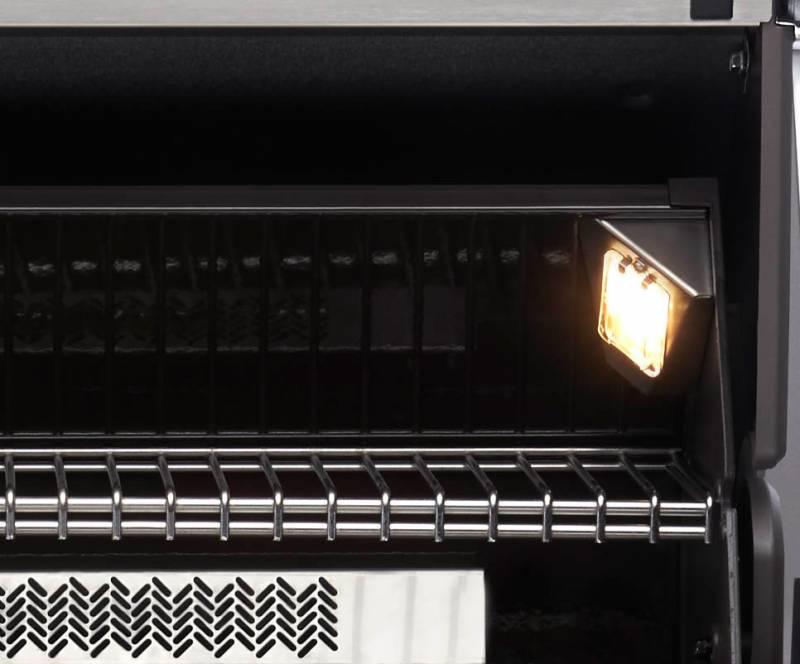 Napoleon Prestige PRO665 schwarzer Deckel inkl. Drehspieß + Motor - Auslaufartikel